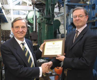 Jewellery Quarter Businessman Receives US Honour – The