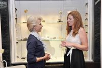HRH The Duchess of Gloucester with Rebecca Hill