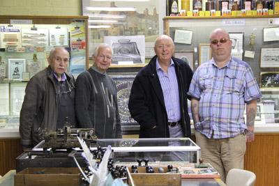 Jasper Carrott with Larry, Brian, and Robert. (Anna Gibson - JQ Creative Marketing).