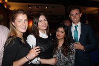 (L-R) Briony Stenhouse, Amy Valerie Smith, Ashira Siraj, amd John Jordan from Hays Recruitment.