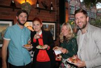 (L-R) William Leslie, Hannah Hind, Katy Poulsom (Capital FM), Carl Hind.