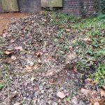 Sunken Graves Safely Filled In