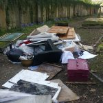 Fly Tipping Horror In Key Hill Cemetery