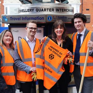JQBID - First BID in the UK to Adopt a Station
