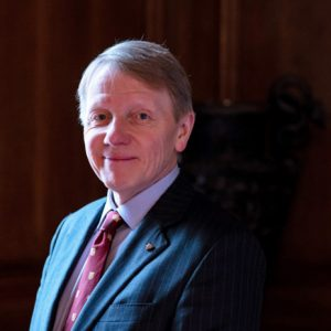 Dr Timothy Schroder - Prime Warden of the Goldsmiths' Company for a Second Term