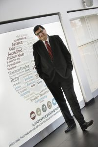 Dippal Manchanda, Birmingham Assay Office.  Photograph by Martin Neeves Photography - www.martinneeves.com