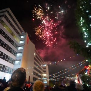 2019 Christmas Lights Switch-on in JQ