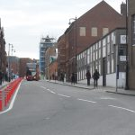 Cyclists Test New Pop-up Cycle Lanes