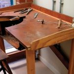 New Home for Jeweller's Bench & Tools