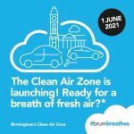 BCC Publish Clean Air Zone Charging Order 2021