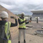 Field Star Set to Track Stadium Progress